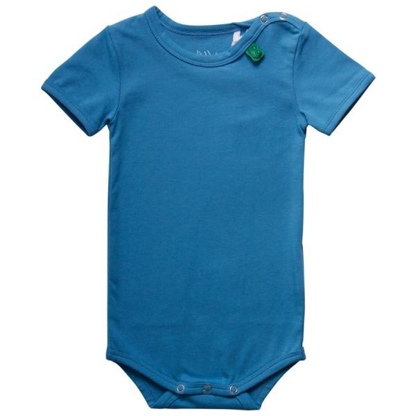 Blauer Basic Body kurzarm