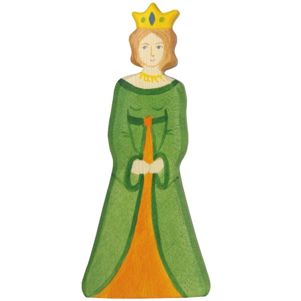 Königin aus Holz z.B. für die Ritterburg