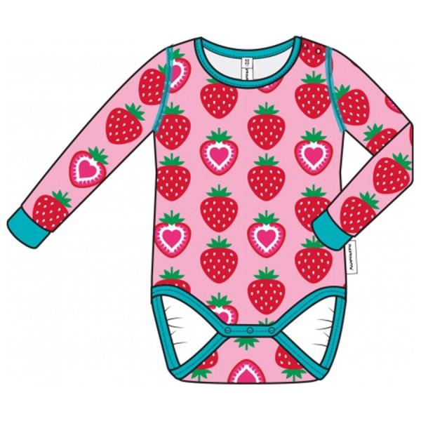 Erdbeere Bio Babybody langarm