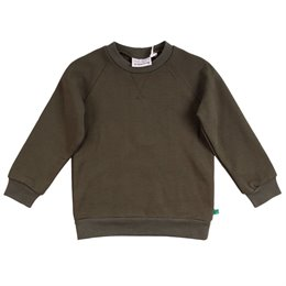 Sportlicher Sweat Pullover khaki