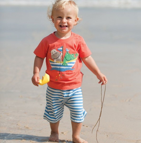 Sommerkombi - Shirt & Hose - einfach süß