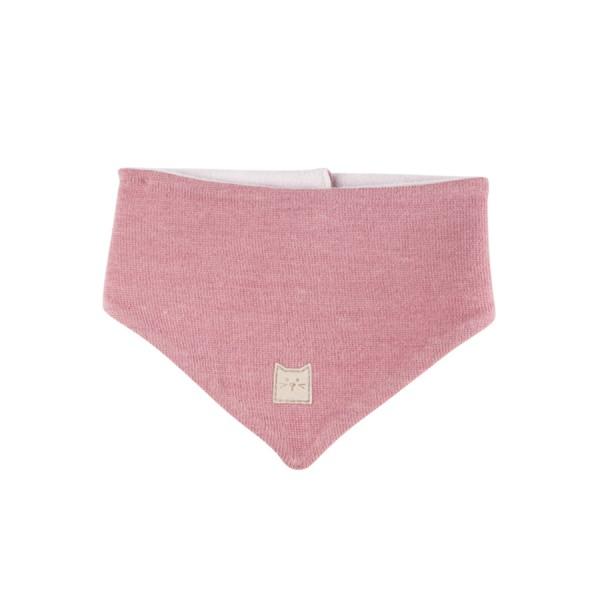 Plüschiges warmes Halstuch rosa