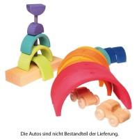 Vorschau: Steckturm Regenbogen doppelter Bogen
