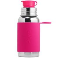 Trinkflasche Sportverschluss 550 ml pink