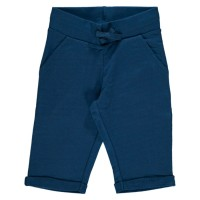 Sweat Shorts knielang - cool, sommerlich und robust marine