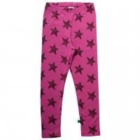 Pinke Sternen Leggings weich
