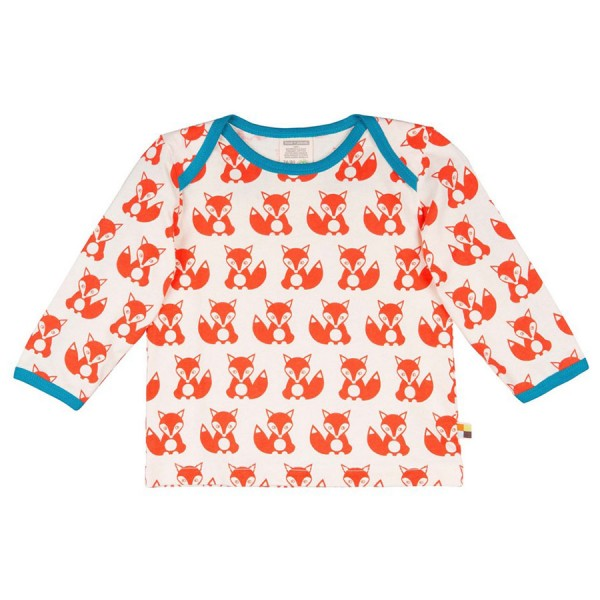 Robustes Shirt langarm Füchse orange