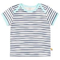 Shirt kurzarm Tiger-Streifen marine