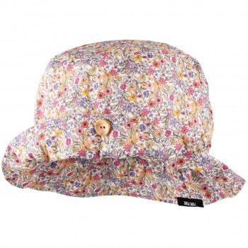Komplett elastische passende Sommermütze Blumen