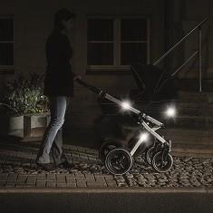 16 Reflektor Sticker Kinderkleidung, Rucksack & Kinderwagen