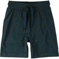 Leichte Jersey Shorts uni in dunkelblau