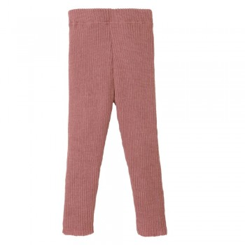 Mitwachsende rosa Leggings warm