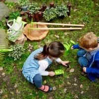 Vorschau: Hochwertiges Gartengeräte Set mit Gießkanne und Tasche