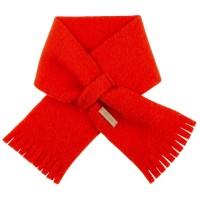 Steckschal Wolle 70 cm ca 1-3 Jahre rot