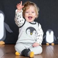 Bio Baby Strampler doppellagig ohne Fuss
