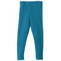 Vorschau: Wolle Leggings warm mitwachsend blau