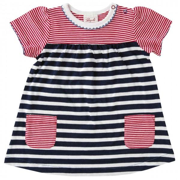 109d039b7f8bd8 Baby Kleid Sommer navy gestreift