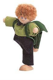 Puppe für Plantoys Puppenhaus Junge
