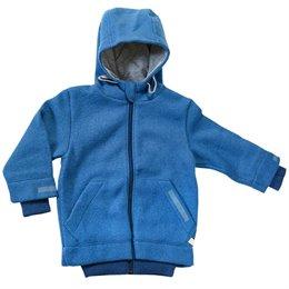 Walk Kinderjacke Outdoor gefüttert blau