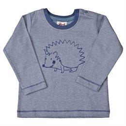 Bio Baby Shirt softe Bündchen Igel