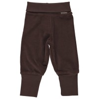 Warme Babyhose Nicki braun softer Bund