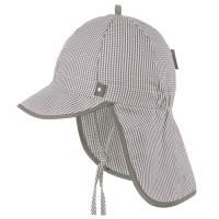 Capi Schirmmütze Nackenschutz taupe