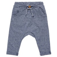 Sommer-Sweat Krabbelhose Jeans-Optik