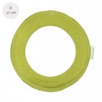 Kleiner super weicher Wurfring LOOP Frisbee distel-grün