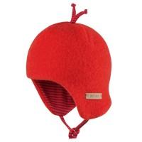 Bio Baby Wintermütze beliebter Klassiker rot