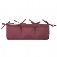 Bett-Aufbewahrungs-Box in lila 50 x 20 cm