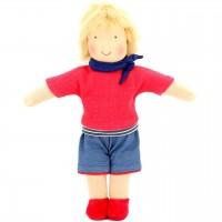 Bio Puppe zum Ankleiden 38 cm - Julius