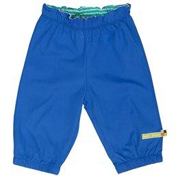 Leichte robuste Bio Kinderhose blau