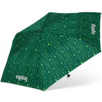 Kinder Regenschirm grüner Urwald