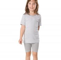 Bermuda für Jungen & Mädchen - sportlich - grau
