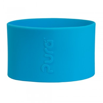 Pura kiki Silikonhülle klein 125 ml – blau