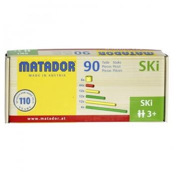 Matador S Ki Stäbchen und Räder Zubehör 74 Stück