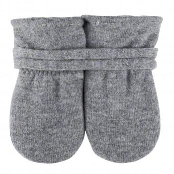 Bio Baby Handschuhe in grau ohne Daumen