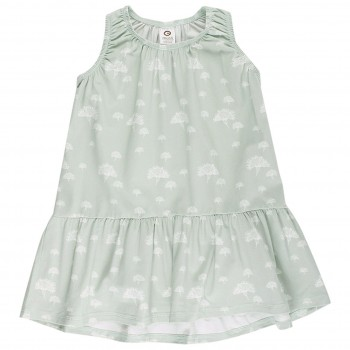 Kleid Pusteblumen in hellgrün