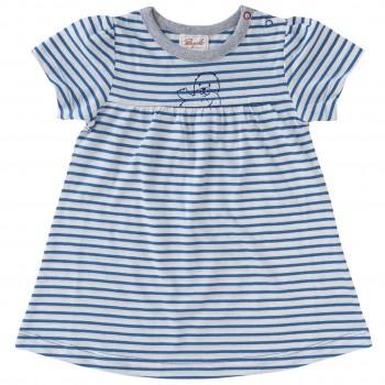 Baby Kleid Sommer blau gestreift