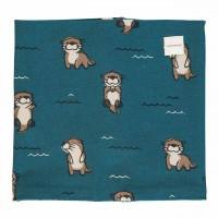 Schlauchschal leicht Otter blau 98/140