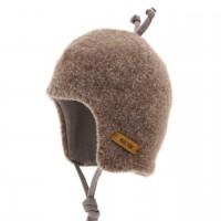 Walnuss-braune Baby Wintermütze beliebter Klassiker
