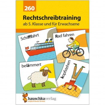 Deutsch Rechtschreibtraining ab 5. Klasse & Erwachsene