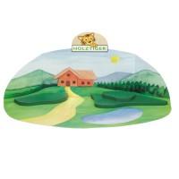 Vorschau: Holzfigur Spiellandschaft - auf dem Bauernhof