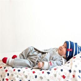 Öko Babyhose Frottee mit softem Leibbund