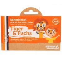 Bio Kinderschminke Tiger & Fuchs 3 Farben