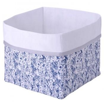 Aufbewahrungsbox Kinderzimmer blau 20 x 20 x 24 cm