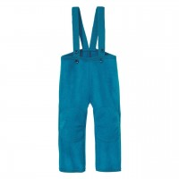 Blaue warme Walkhose Schurwolle