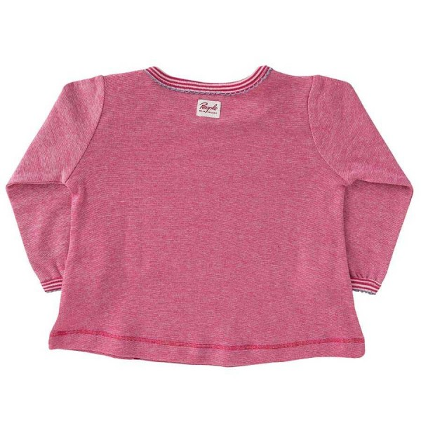 Langarm Shirt pink Hühnchen