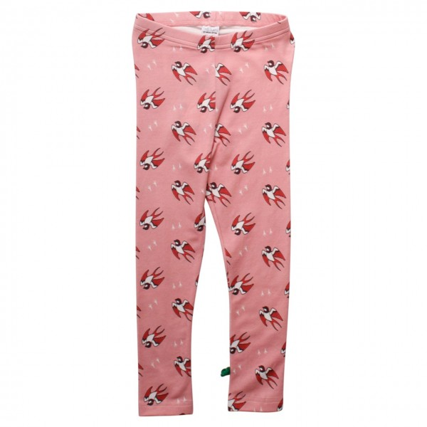 Rosa Leggings Vogel