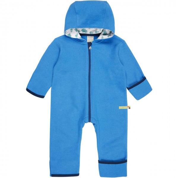 Warmer Wollfleece Overall blau